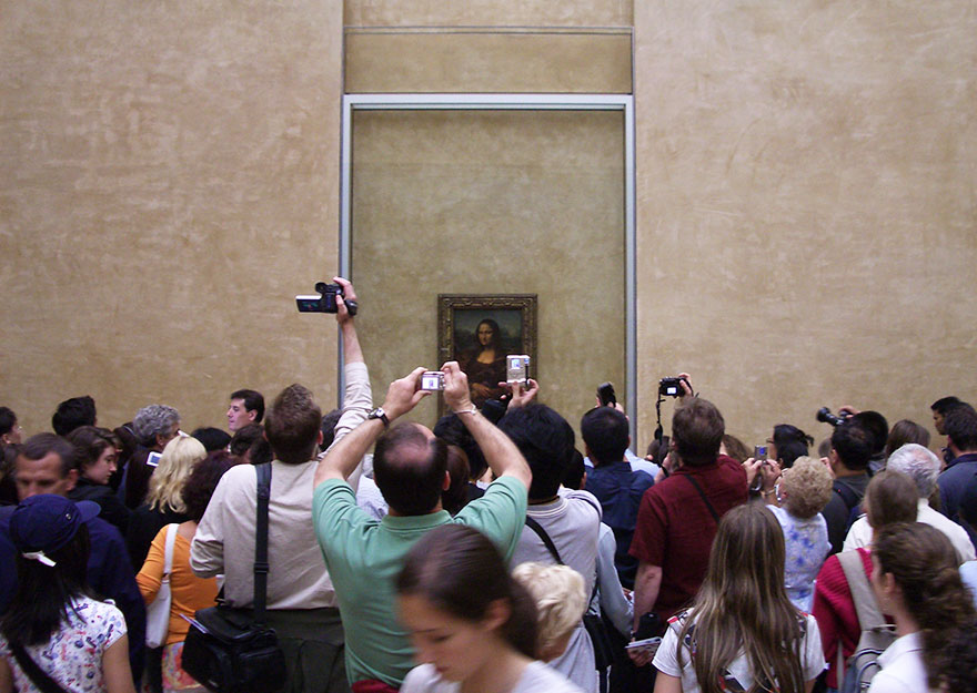 #3 Admiring Mona Lisa In Louvre Museum, Paris, France