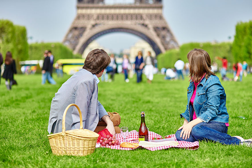 #4 Having A Picnic Near The Eiffel Tower In Paris, France-1