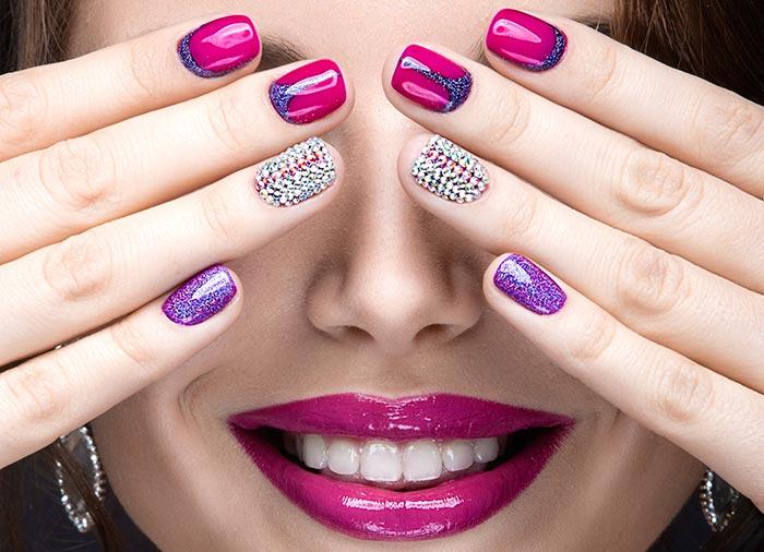 40+ Attractive Nail art designs (11)