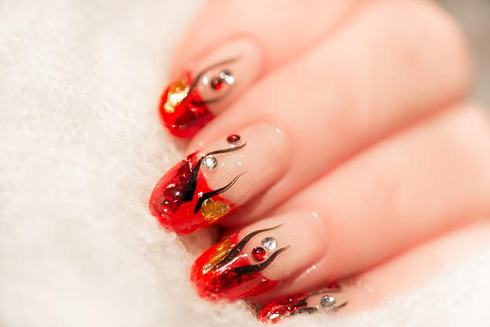 40+ Attractive Nail art designs (15)