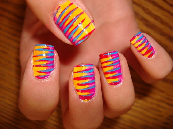 40+ Attractive Nail art designs (6)