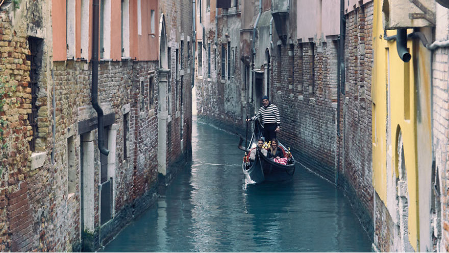 #5 Taking A Peaceful Gondola Ride In Venice, Italy-1