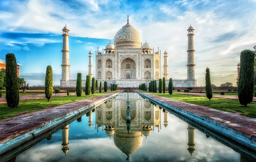 #9 Checking Out The Breathtaking Glory Of The Taj Mahal, India-1
