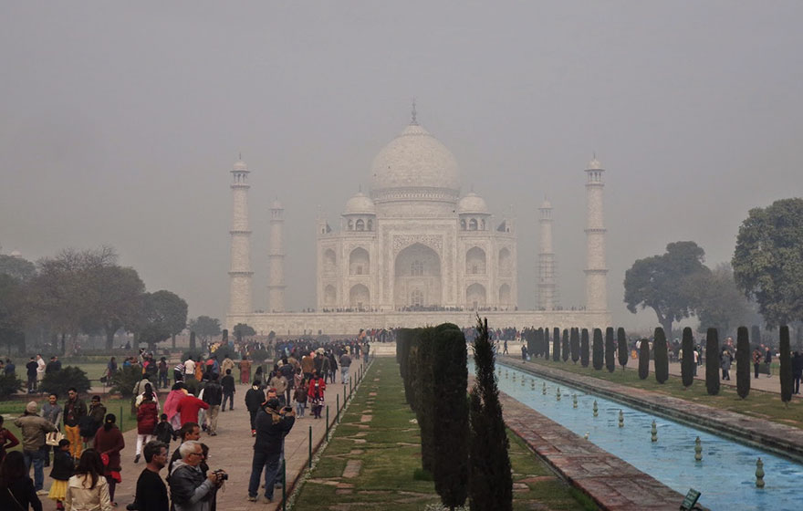 #9 Checking Out The Breathtaking Glory Of The Taj Mahal, India