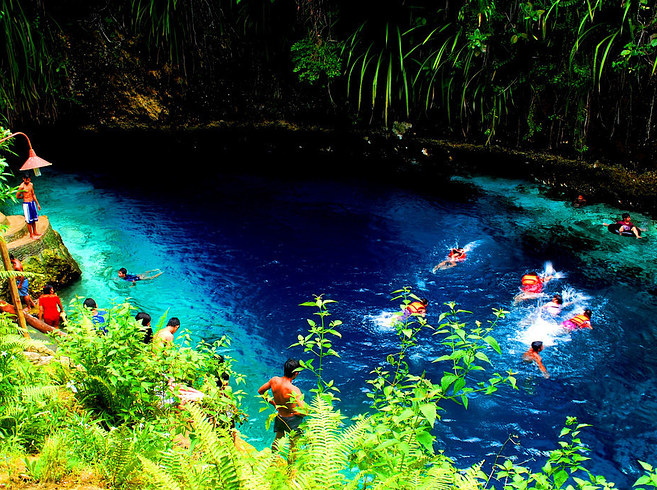 Hinatuan Enchanted River, Surigao del Sur