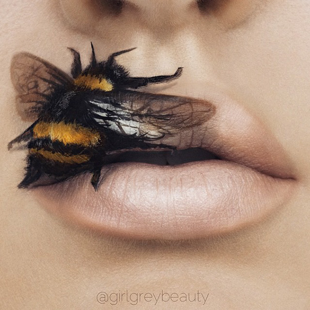 Incredible Art of Her Lips Making Makeup Artists (3)