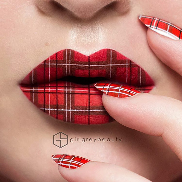 Incredible Art of Her Lips Making Makeup Artists (4)