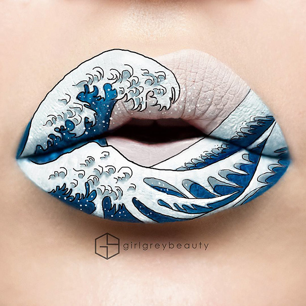 Incredible Art of Her Lips Making Makeup Artists (6)