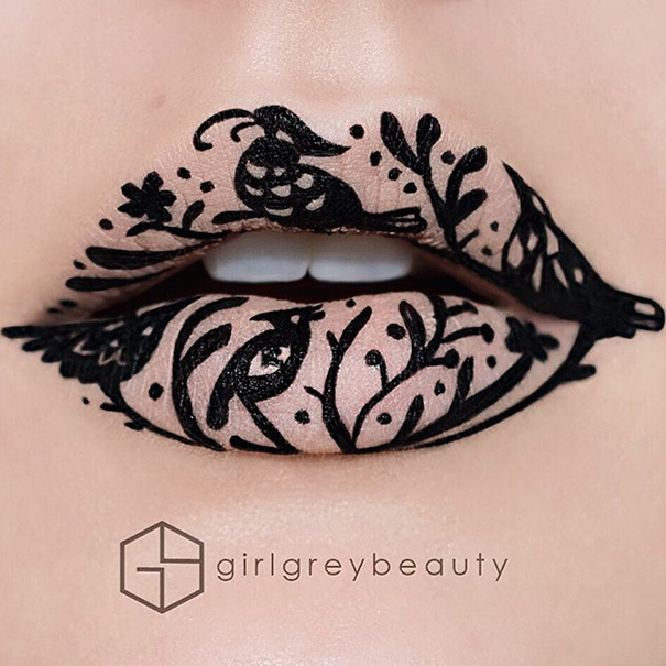 Incredible Art of Her Lips Making Makeup Artists (9)