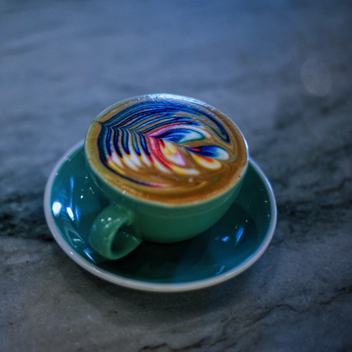 Marvelous Colorful Latte Coffee Art (7)