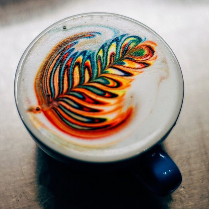 Marvelous Colorful Latte Coffee Art (8)