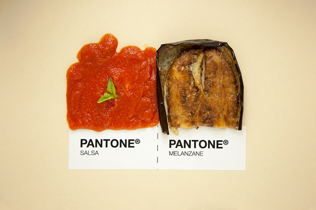 Sicilian Cuisine by Designer in Pantone Color Matching System (1)