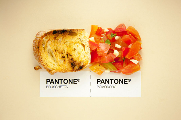 Sicilian Cuisine by Designer in Pantone Color Matching System (2)