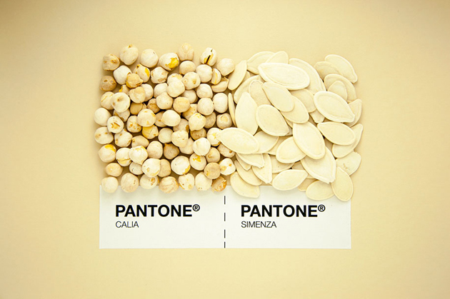 Sicilian Cuisine by Designer in Pantone Color Matching System (3)