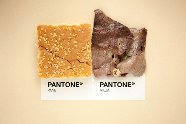 Sicilian Cuisine by Designer in Pantone Color Matching System (4)