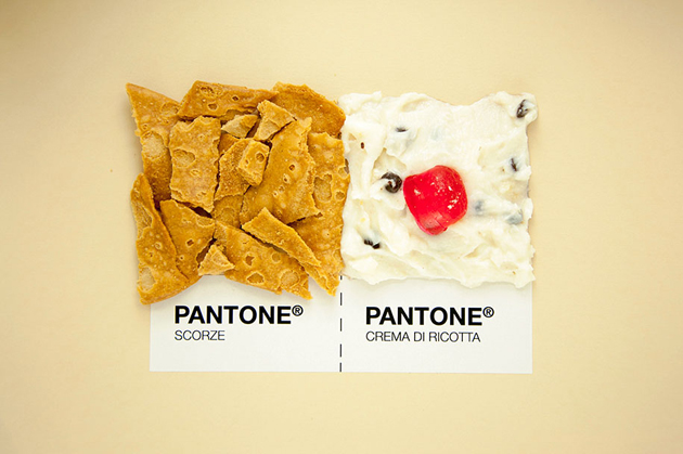 Sicilian Cuisine by Designer in Pantone Color Matching System (5)