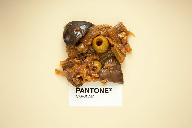 Sicilian Cuisine by Designer in Pantone Color Matching System (6)