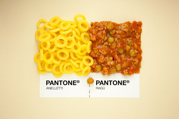 Sicilian Cuisine by Designer in Pantone Color Matching System (9)