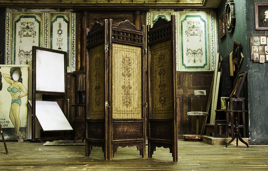 Alamedy Diorama Built A Miniature 1900s Photography Studio (11)