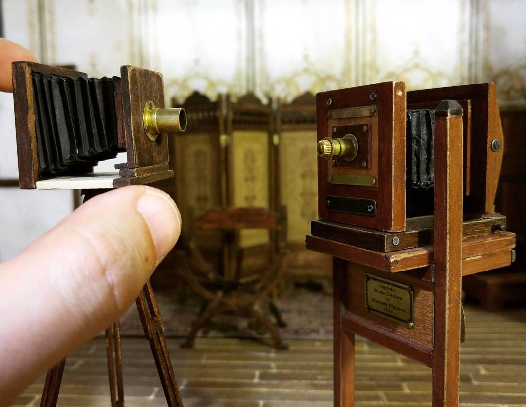Alamedy Diorama Built A Miniature 1900s Photography Studio (14)