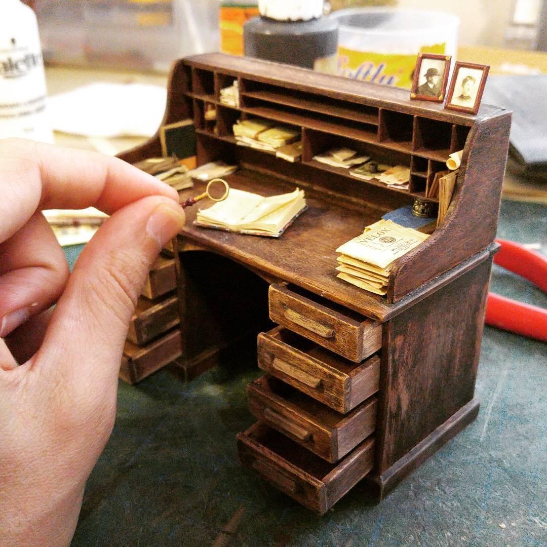Alamedy Diorama Built A Miniature 1900s Photography Studio (16)