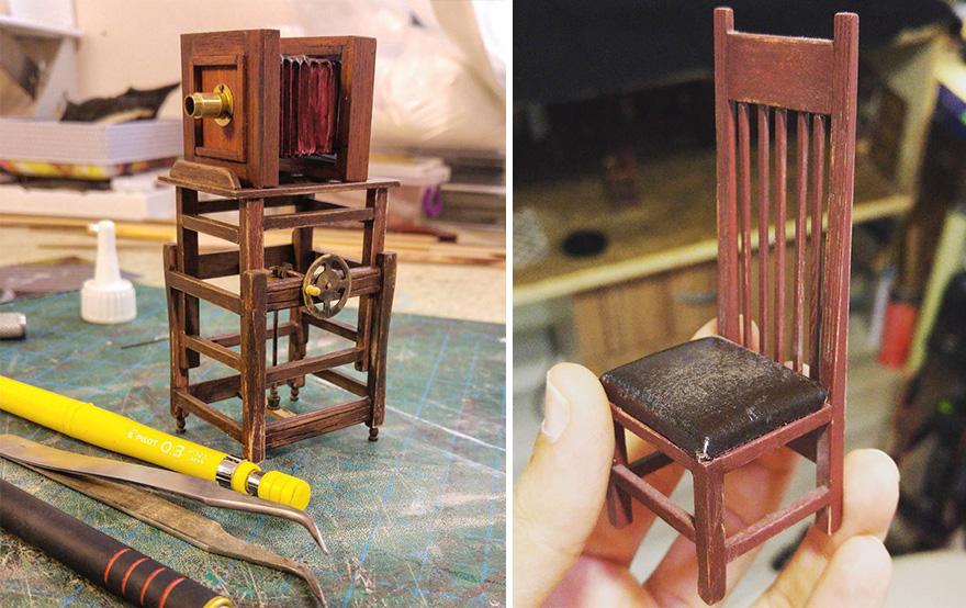 Alamedy Diorama Built A Miniature 1900s Photography Studio (2)