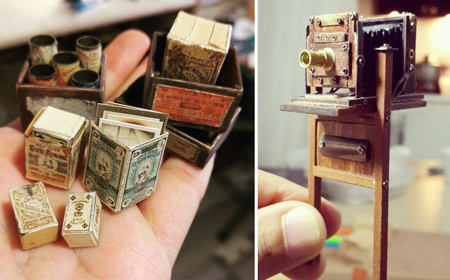 Alamedy Diorama Built A Miniature 1900s Photography Studio (3)