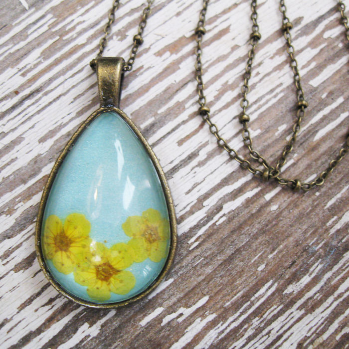 Beautiful Botanical Flower Jewelry Created By Adrienne Deloe (1)