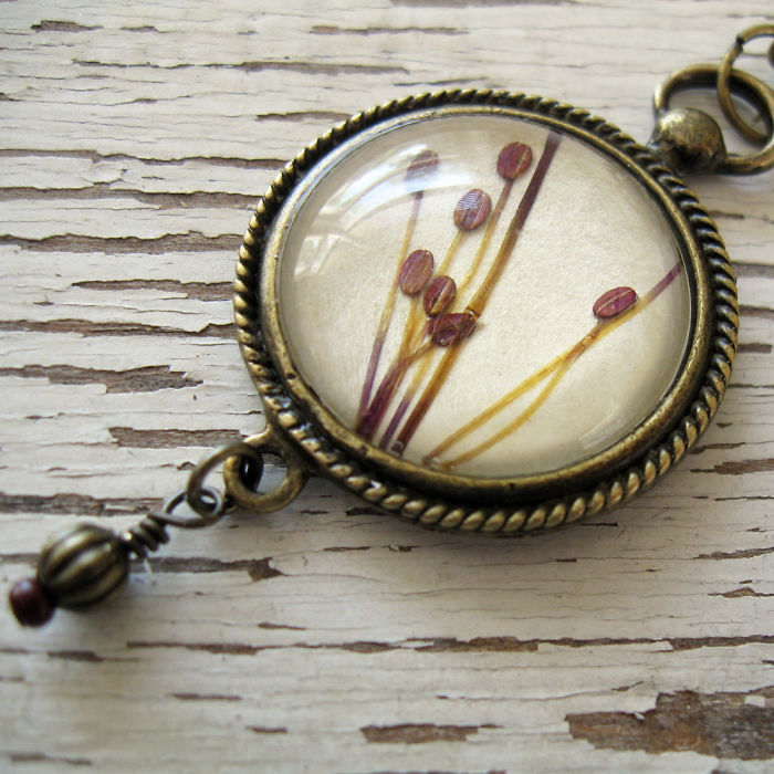 Botanical Flower Jewelry Created By Adrienne Deloe (10)