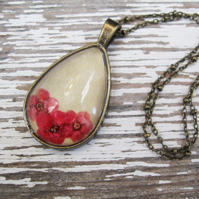Botanical Flower Jewelry Created By Adrienne Deloe (14)