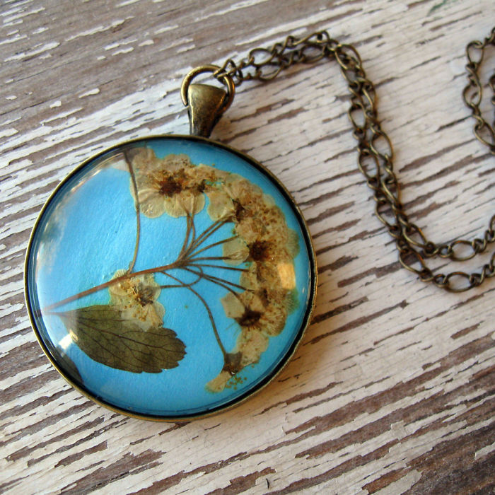 Botanical Flower Jewelry Created By Adrienne Deloe (17)