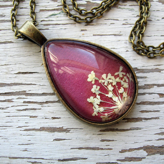 Botanical Flower Jewelry Created By Adrienne Deloe (18)