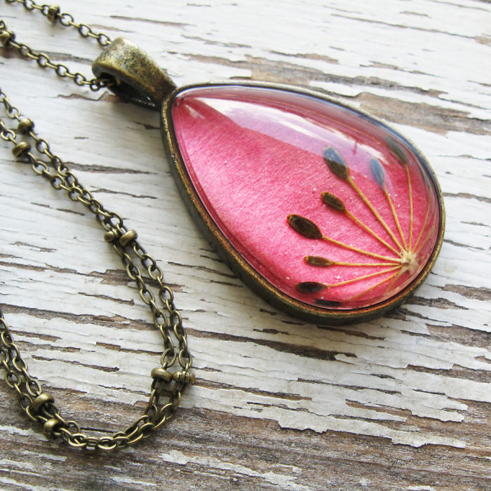 Botanical Flower Jewelry Created By Adrienne Deloe (2)