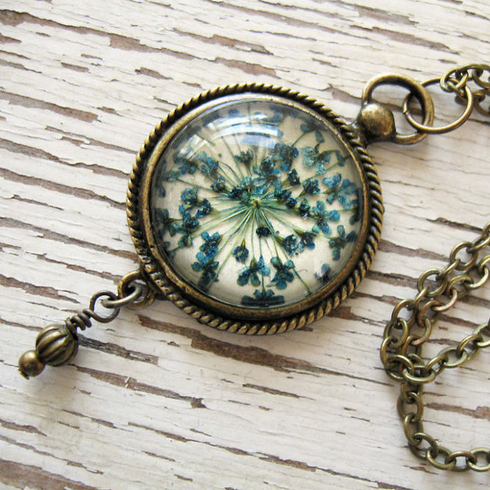 Botanical Flower Jewelry Created By Adrienne Deloe (7)