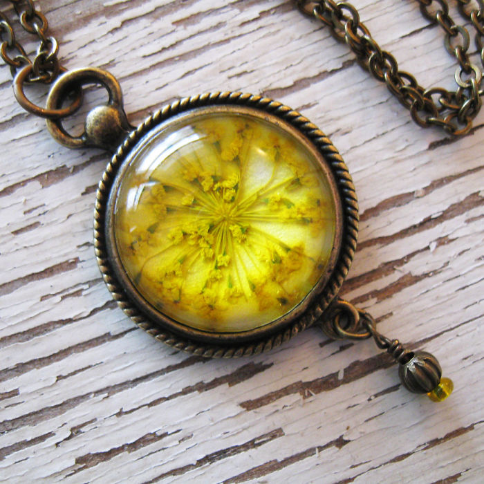Botanical Flower Jewelry Created By Adrienne Deloe (9)