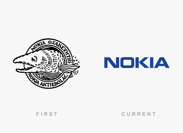 Famous Logos Old And New (1)