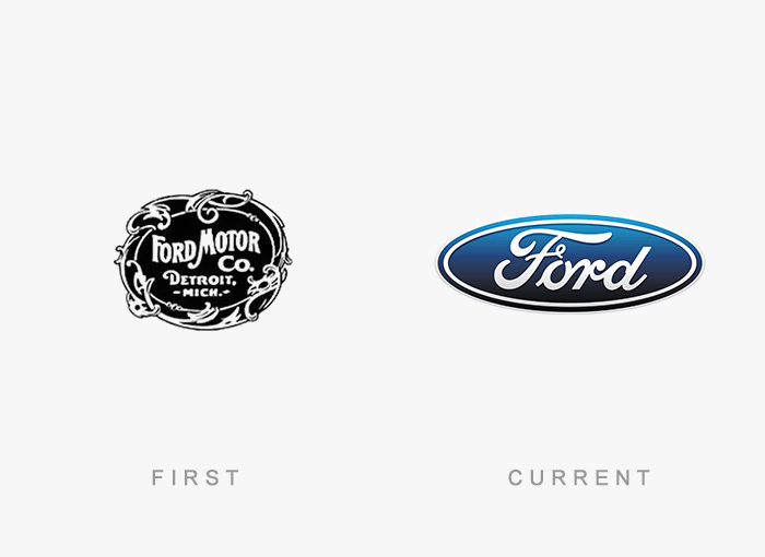 Famous Logos Old And New (12)
