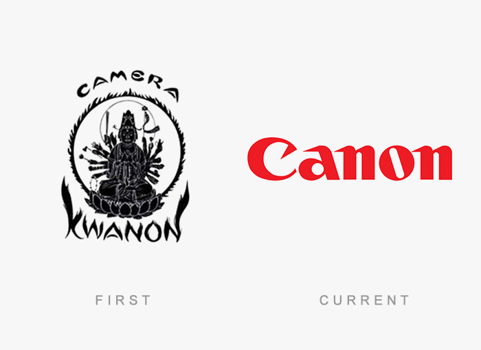 Famous Logos Old And New (13)