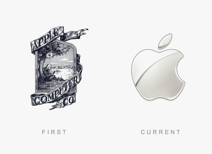 Famous Logos Old And New (16)