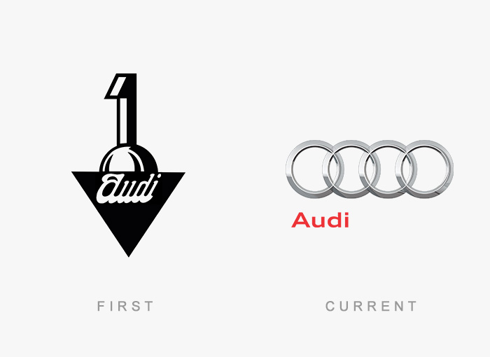 Famous Logos Old And New (2)