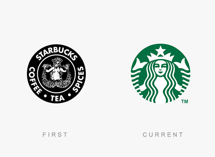Famous Logos Old And New (23)