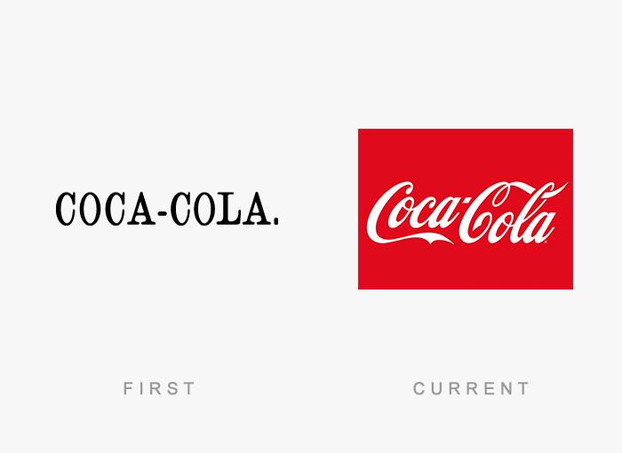 Famous Logos Old And New (28)