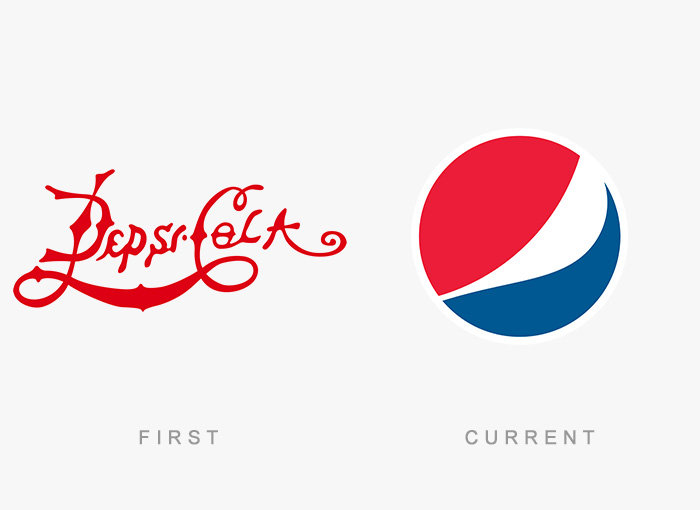 Famous Logos Old And New (30)