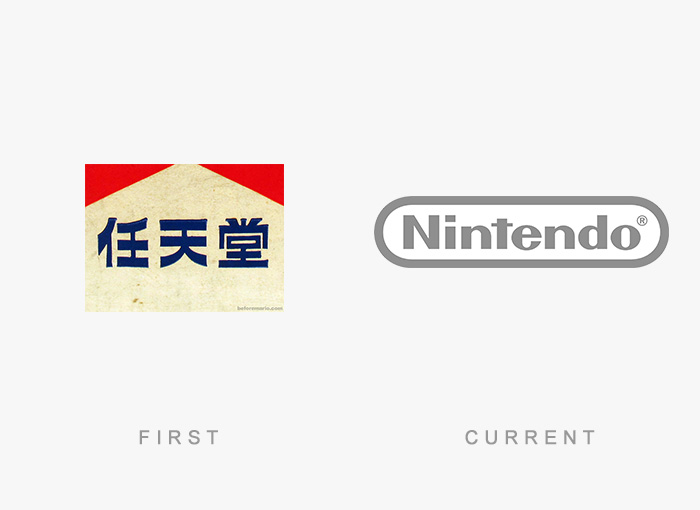Famous Logos Old And New (4)