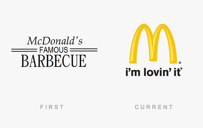 Famous Logos Old And New (5)