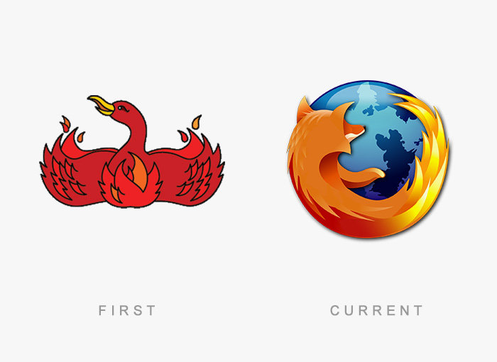 Famous Logos Old And New (9)