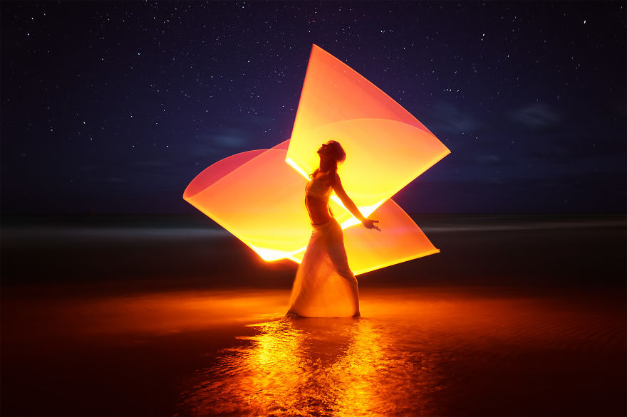 Gorgeous Light Painting Created By Eric Pare And Kim (1)