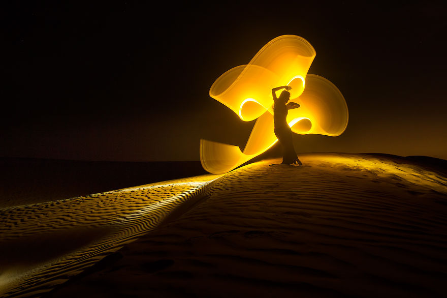 Gorgeous Light Painting Created By Eric Pare And Kim (17)