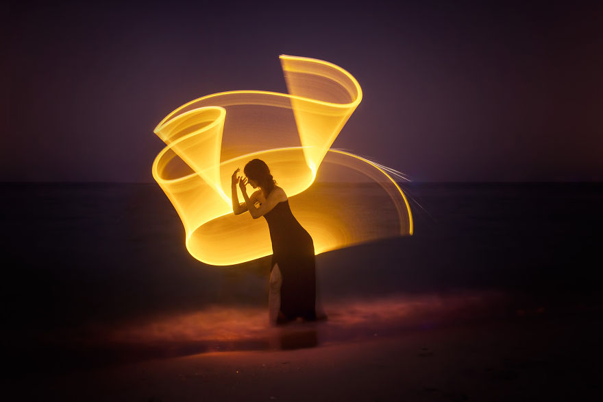 Gorgeous Light Painting Created By Eric Pare And Kim (18)