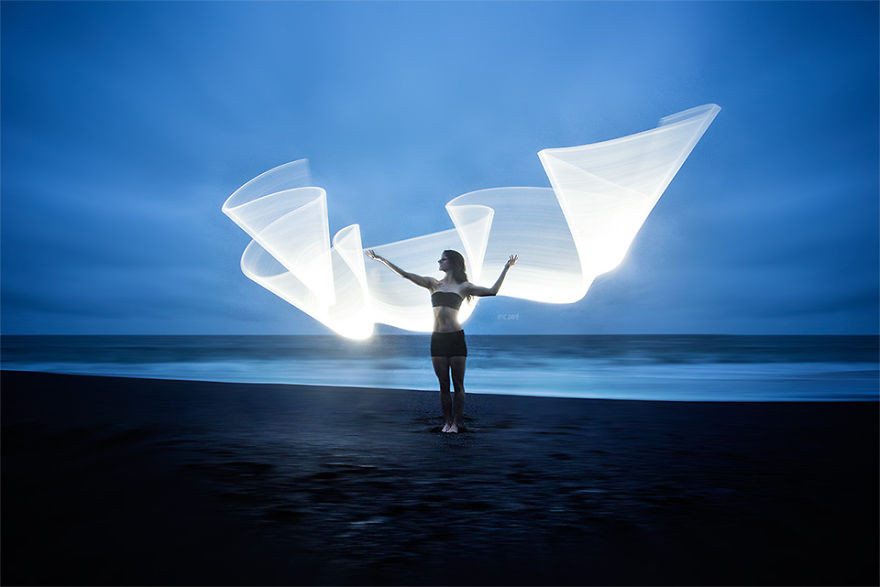 Gorgeous Light Painting Created By Eric Pare And Kim (19)